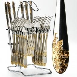 Набор столовых приборов на подставке Mayer&Boch MB-23115