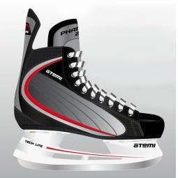 Коньки хоккейные ATEMI PHANTOM 2.0 RED