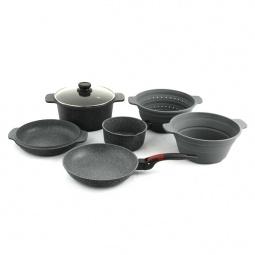 Набор посуды 12 в 1 Delimano Stone Expert