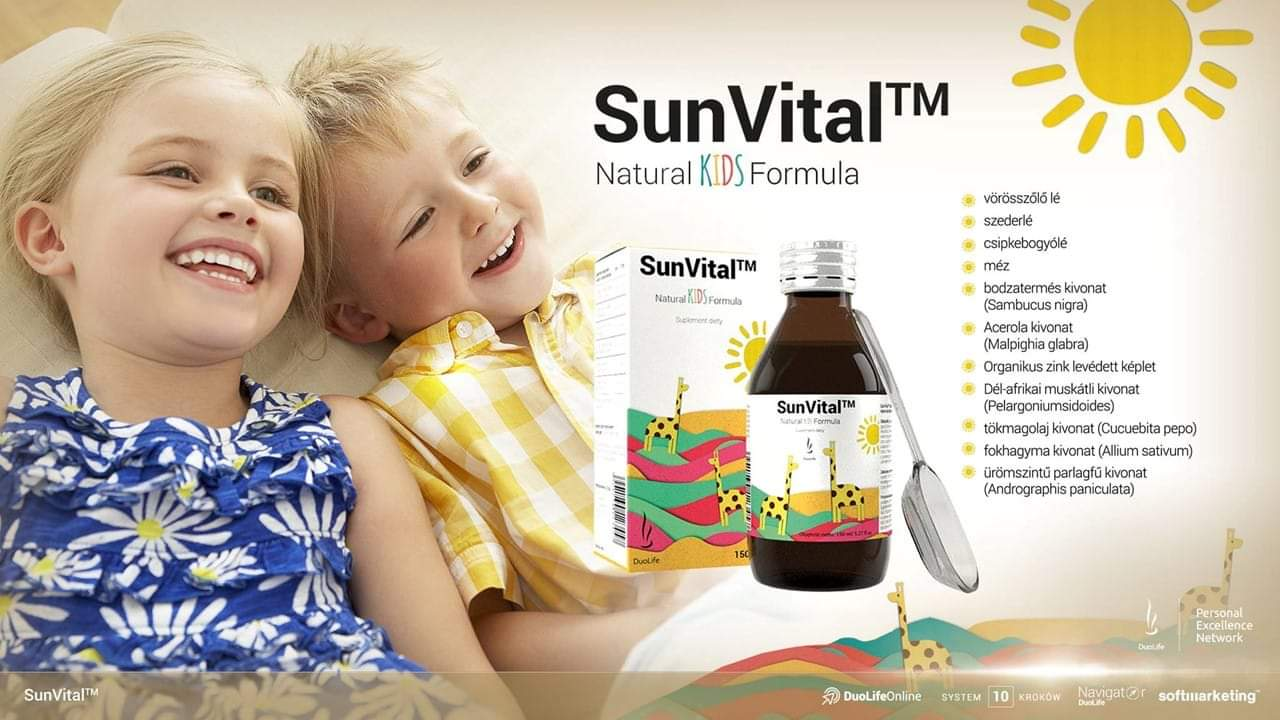 Сироп для иммунитета Сан витал