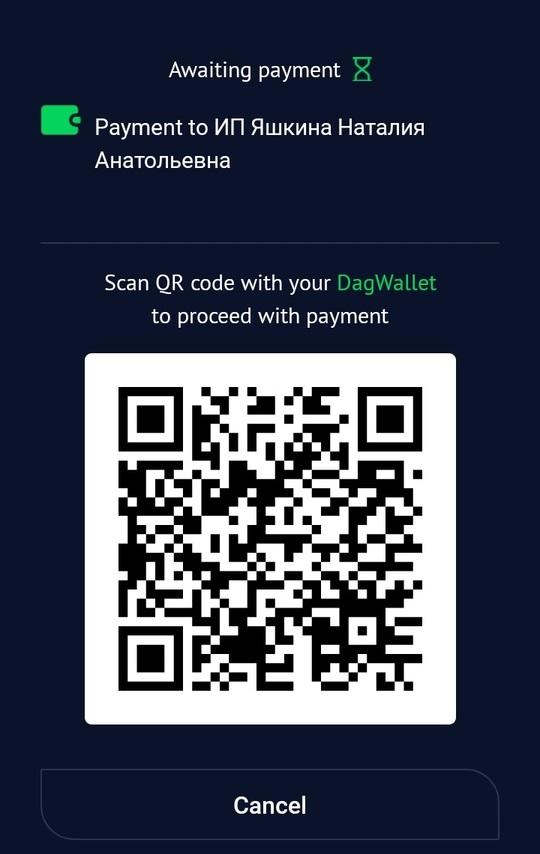 Оплата через DagPay